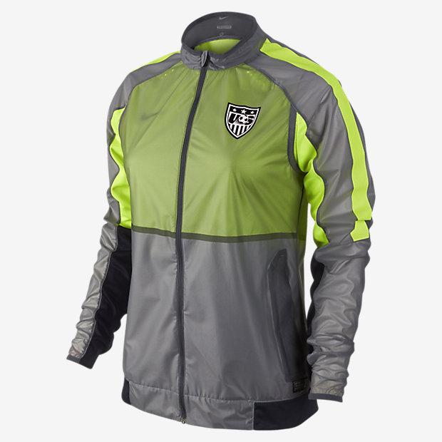 Nike USA Select Revolution Lightweight Woven Women's Soccer Jacket ...