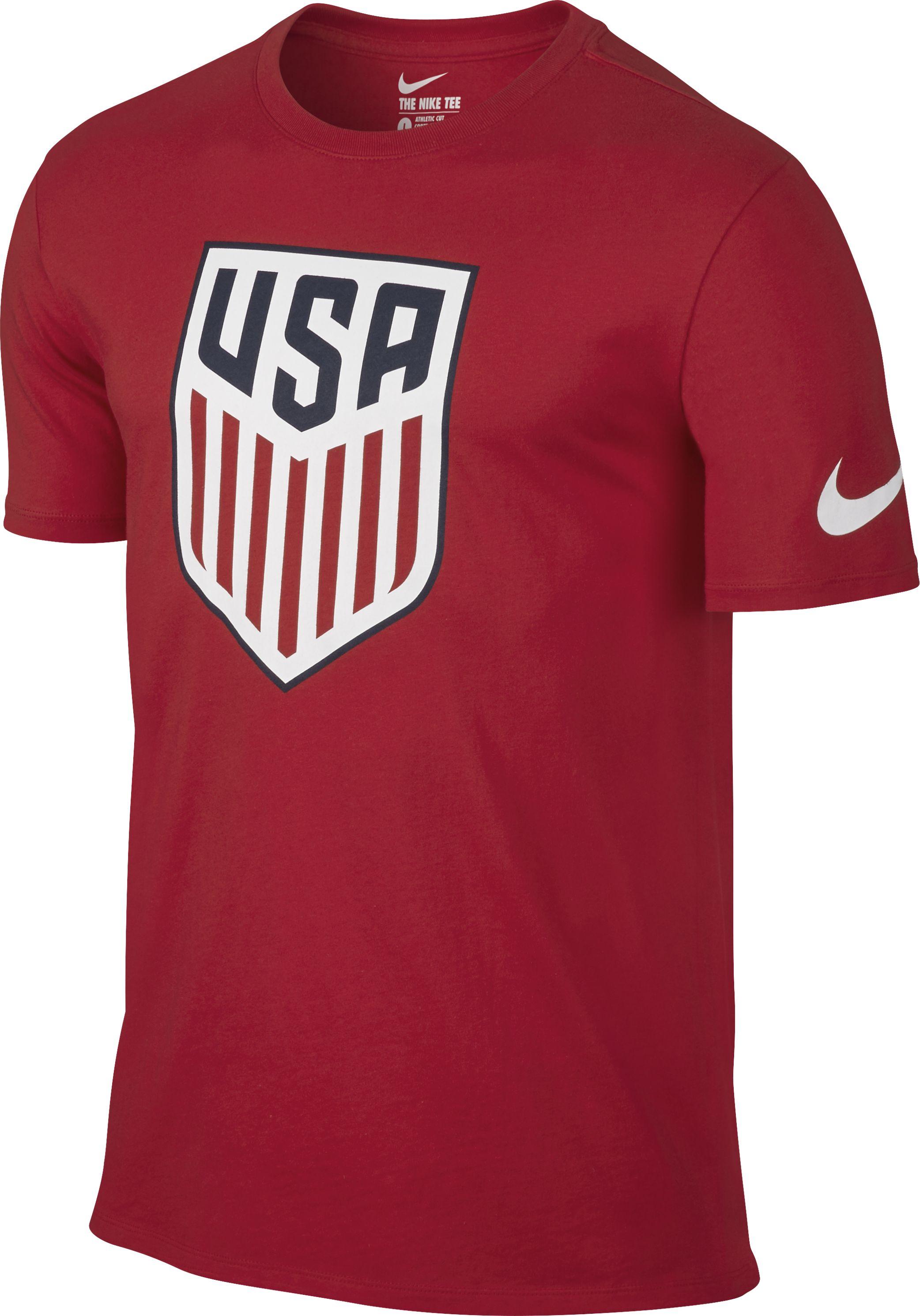65f0a181aba Nike U.s. Crest Tee Shirt - Soccer Premier