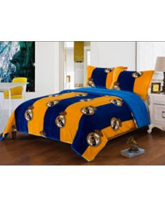 Official Real Madrid 3PCS FLANNEL BORREGO Blankets