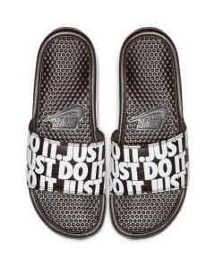 "Nike Benassi ""Just Do It."" Print Sandals"