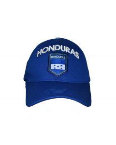 Honduras Flag Logo Hat (National Soccer Team)- Adults One Size  Adjustable by Rhinox Group