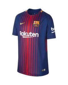 Nike Youth Breathe FC Barcelona Stadium Jersey 2017/18