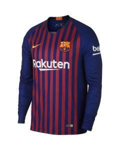Nike FC Barcelona Home LS Jersey 2018/19