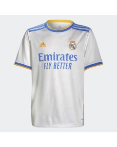 adidas Real Madrid Youth Home Jersey 2021/22