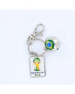 Wagon Brazil FIFA Worldcup 2014 Brazil KeyChain