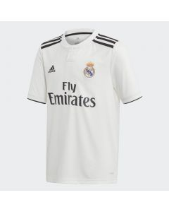 Adidas Kids Real Madrid Home Jersey 2018/19