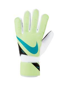 Nike Jr. Goalkeeper Match Soccer Gloves (Lime)