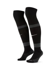 Nike Match Fit Soccer Knee-High Socks (Black/Grey)