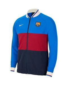 Nike FC Barcelona Men's Full-Zip Soccer Track Jacket