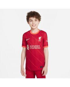 Nike Liverpool FC 2021/22 Stadium Home Big Kids' Soccer Jersey