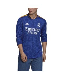 adidas REAL MADRID Away LS Jersey 2021/22