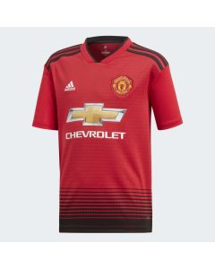 Adidas Kids Manchester United Home Jersey 2018/19