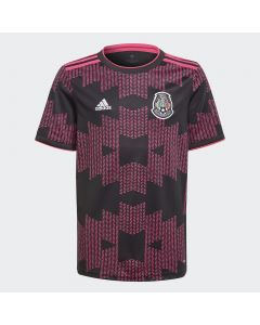 Adidas Youth Mexico Home Jersey