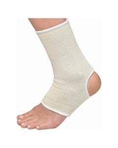 Mueller Elastic Ankle Support (White)
