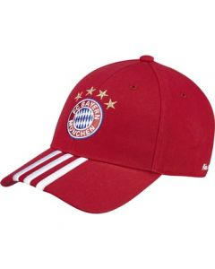 Adidas FC BAYERN MÜNCHEN 3 Strips Cap- One Size Fits All