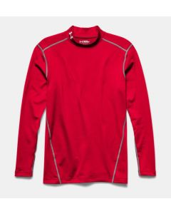 Under Armour Men's Cold Gear Mock (Red)