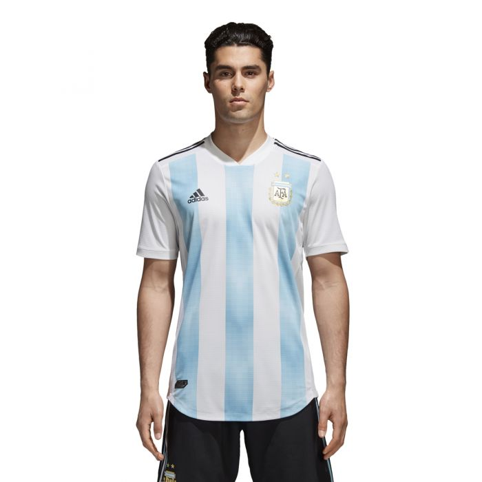 Adidas AFA- Argentina National Team Authentic Home Jersey 2018 ...