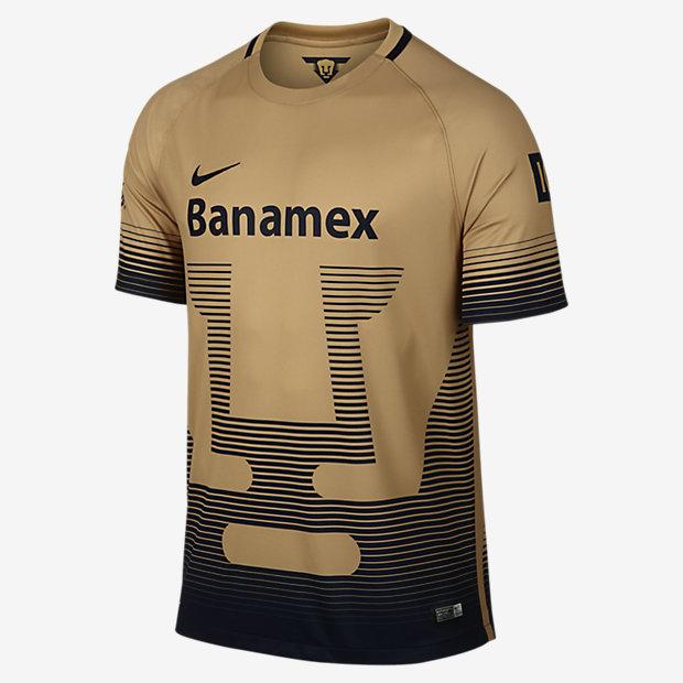 4d3459ce0bb Nike Pumas UNAM 2015 2016 Home Jersey - Soccer Premier