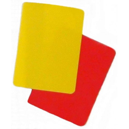 Referee Card Soccer Premier