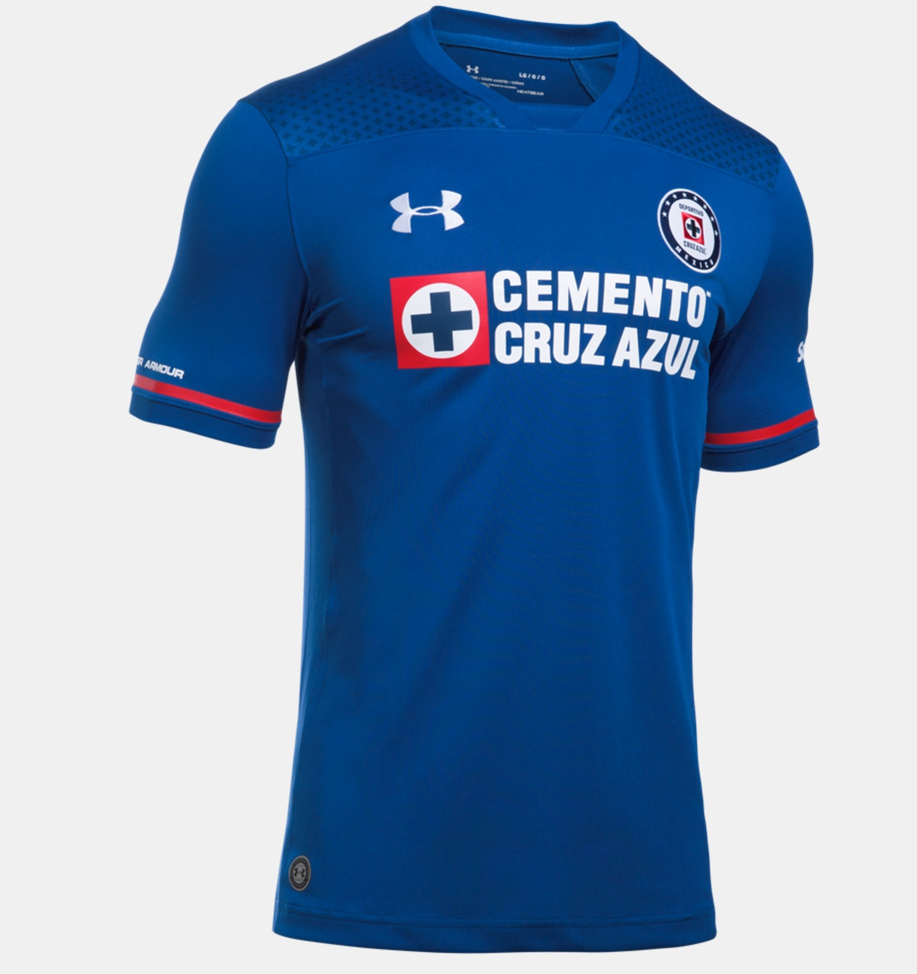 52d8e143a59 Under Armour Men s Cruz Azul Home Jersey 2017 18 - Soccer Premier
